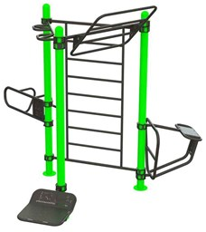 Bild von Outdoor Functional Training Station for up To 6 Users 30-01077